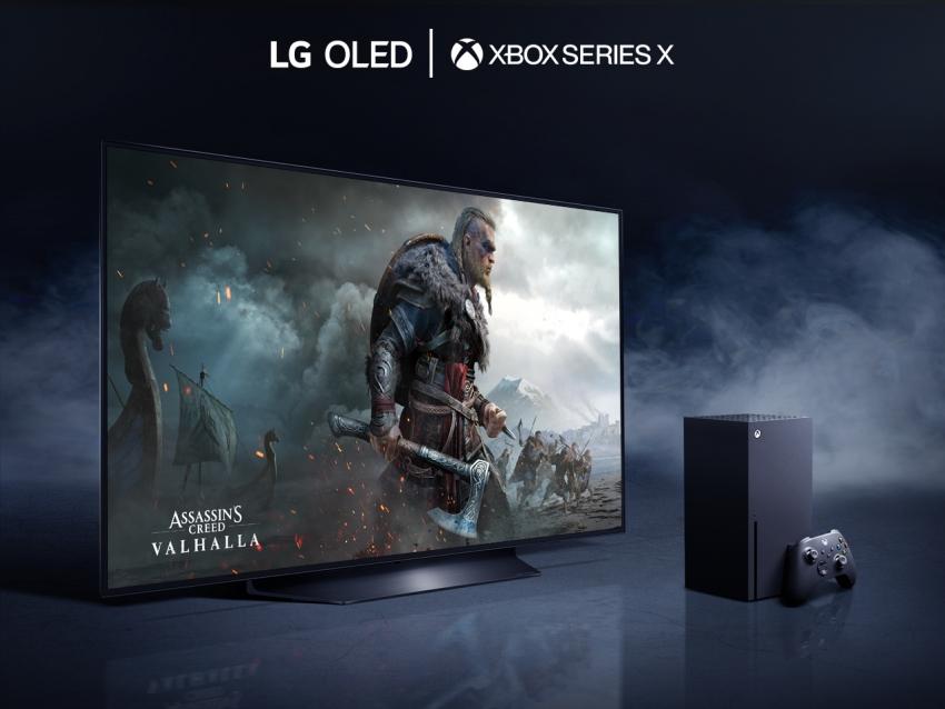 """""""LG OLED"""" televizorius ir X serijos """"XBOX"""" atskleidžia žaidimo naujos kartos konsole potyrius"""