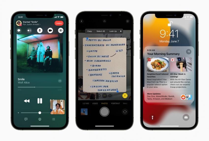 """Vakar pristatytos """"Apple"""" naujienos: """"iPhone"""" nuo šiol padės nesiblaškyti ir analizuos mūsų eiseną"""