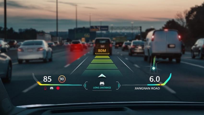 """""""IAA MOBILITY 2021"""" parodoje debiutavo naują vairavimo patirtį suteikiantis """"Huawei AR–HUD"""""""