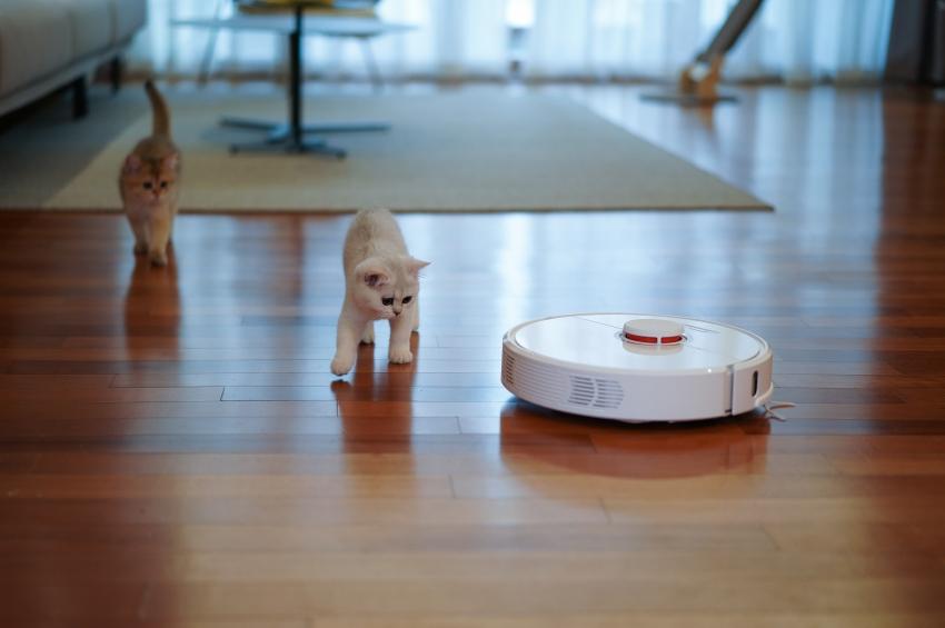 6 netikėtos robotų siurblių funkcijos, apie kurias nežinojote
