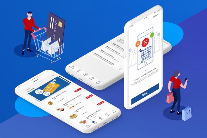"""""""Maximos"""" klientai už prekes jau gali atsiskaityti mobiliąja programėle"""
