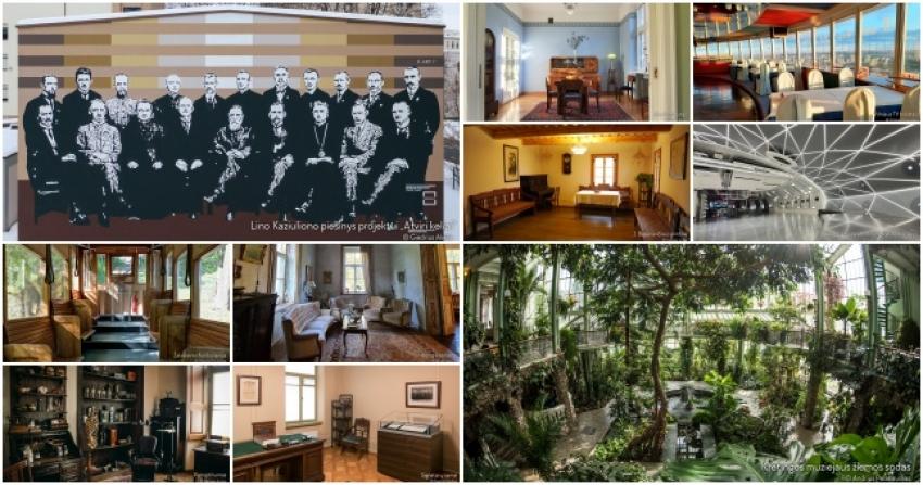 Atrinkta lietuviškų fonų galerija vaizdo skambučiams: nuo Signatarų namų iki kosminio biuro