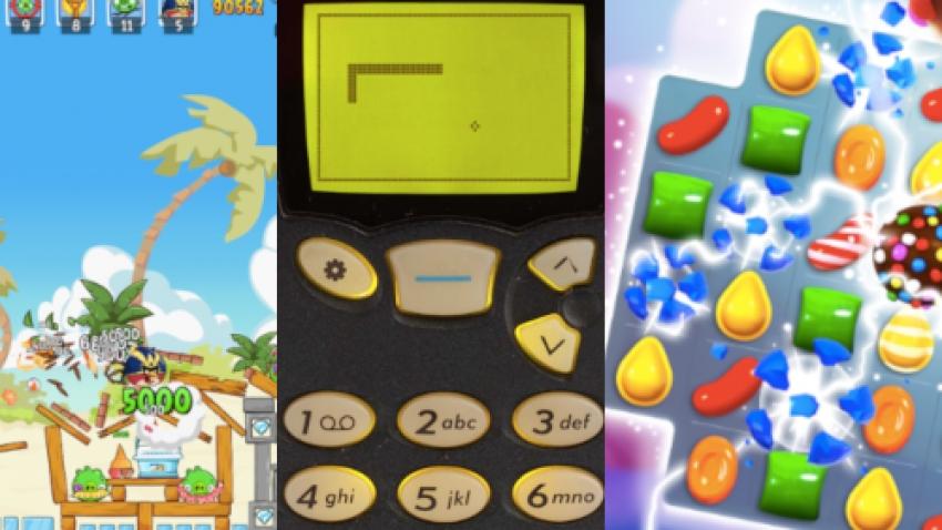 5 telefoniniai žaidimai, kurie įėjo į istoriją: nuo linijos ir taško iki papildytos realybės