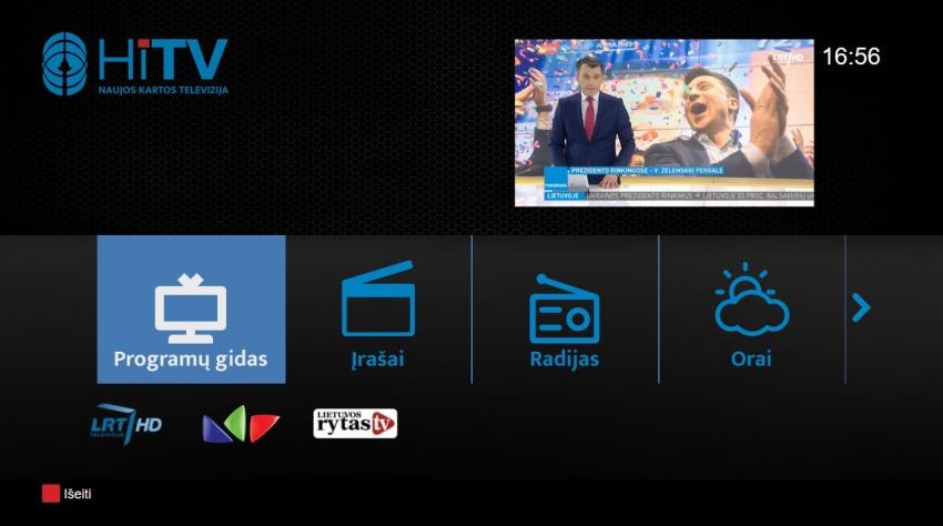Telecentras kartu su partneriais pradeda teikti hibridinės televizijos paslaugą HiTV
