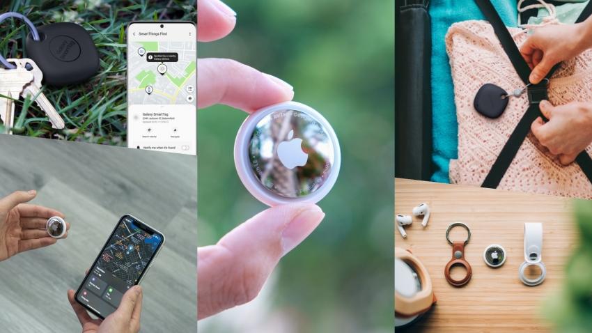 """Išmani neišmanių daiktų era – kuo ypatingi """"AirTag"""" ir """"Galaxy Smart Tag"""" ieškikliai?"""