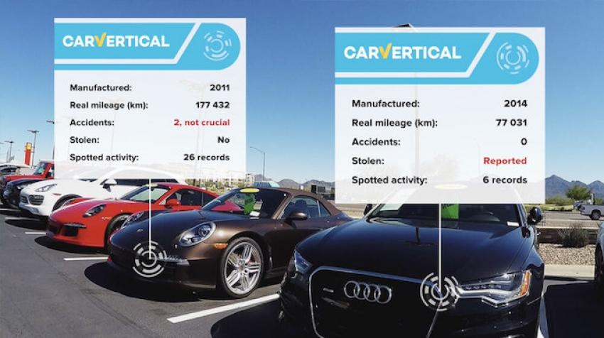 Kaip blockchain padės neapsigauti perkant naudotą automobilį?