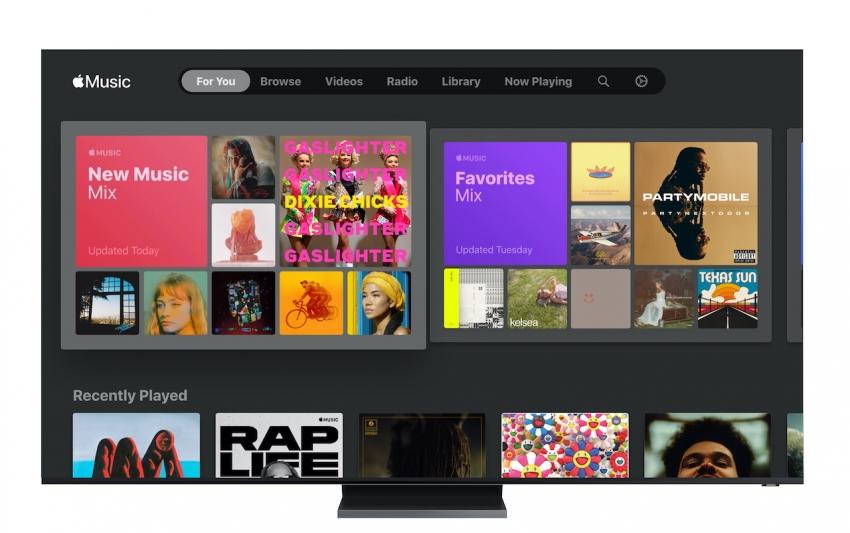 """""""Samsung"""" televizoriuose jau pasiekiama """"Apple Music"""" programa"""
