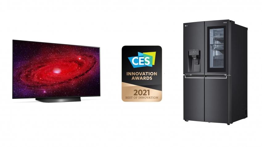 LG pelnė daug garbingų CES 2021 inovacijų apdovanojimų