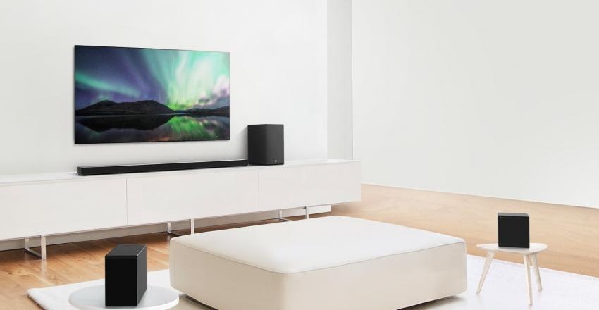 """Naujoji """"LG"""" garso sistemų linija suteikia kokybiškiausią garso patirtį dar didesniam vartotojų ratui"""